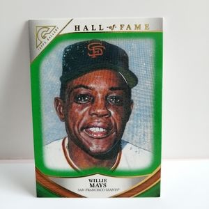2019 Topps Heritage Hall Of Fame Willie Mays